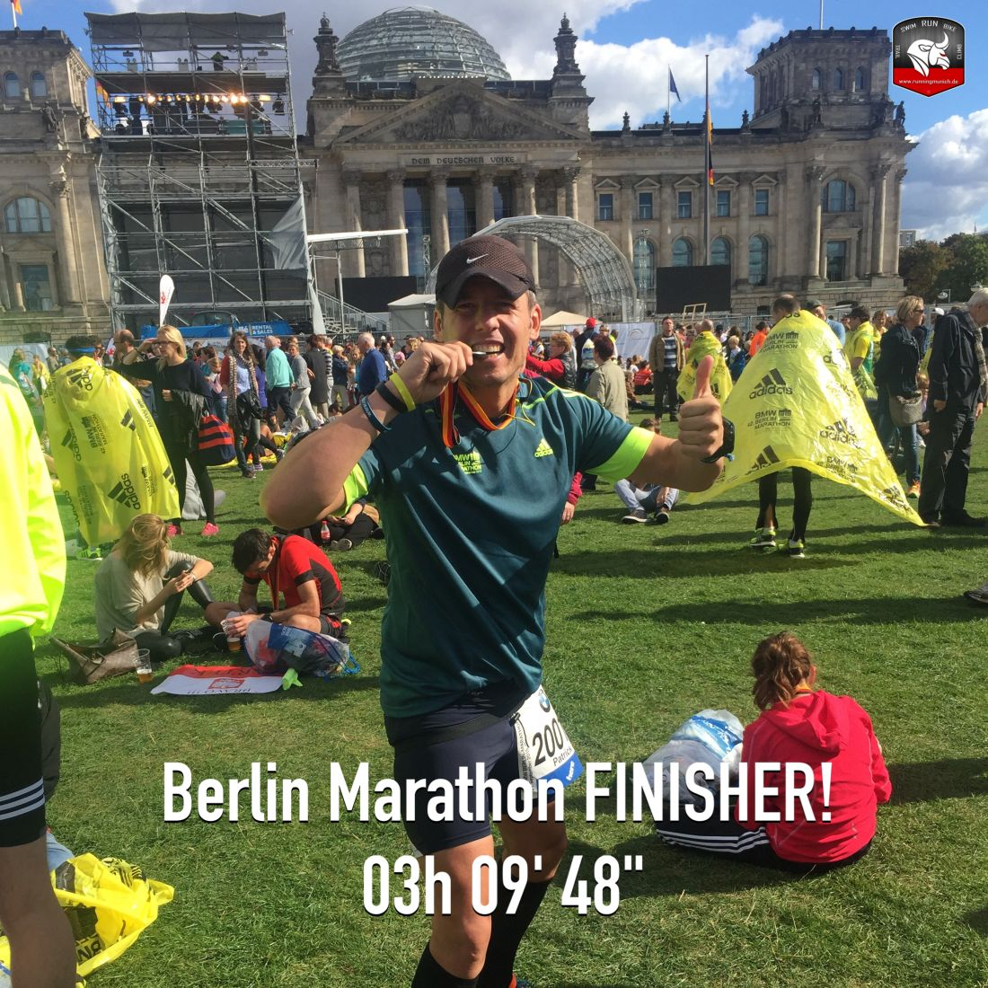 Berlin Marathon 2015 Finisher