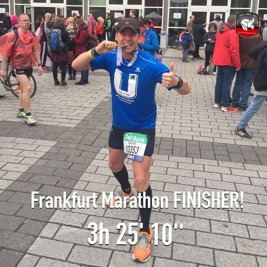 Frankfurt Marathon 2015 Finisher