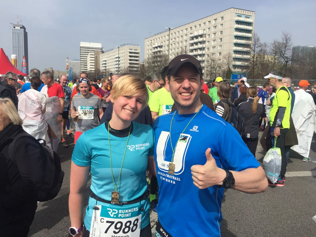 Berlin Halbmarathon 2016 Finisher
